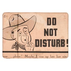 Do Not Disturb I Want To Sleep Thanks Samsung Galaxy Tab 8 9  P7300 Flip Case