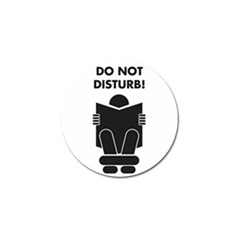 Do Not Disturb Sign Board Golf Ball Marker (10 Pack) by AnjaniArt