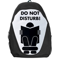 Do Not Disturb Sign Board Backpack Bag