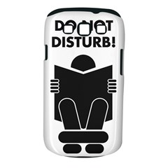 Do Not Disturb Sign Board Samsung Galaxy S Iii Classic Hardshell Case (pc+silicone) by AnjaniArt