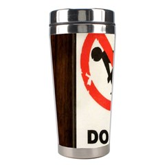 Do Not Disturb Sign Please Go Away I Don T Care Stainless Steel Travel Tumblers