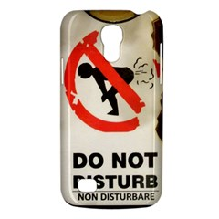 Do Not Disturb Sign Please Go Away I Don T Care Galaxy S4 Mini by AnjaniArt