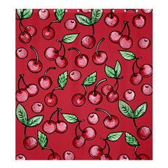 Cherry Cherries For Spring Shower Curtain 66  X 72  (large)  by BubbSnugg