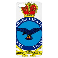 Crest Of Royal Malaysian Air Force Apple Iphone 5 Hardshell Case by abbeyz71