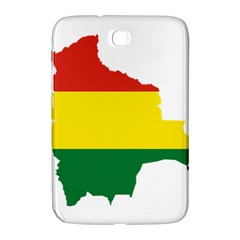 Flag Map Of Bolivia Samsung Galaxy Note 8 0 N5100 Hardshell Case  by abbeyz71