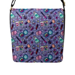 Chromatic Cosmetics Flap Messenger Bag (l)  by miranema