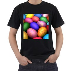 Easter Egg Men s T Shirt (black)