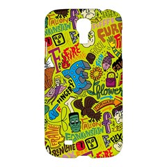 F Pattern Cartoons Samsung Galaxy S4 I9500/i9505 Hardshell Case