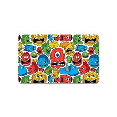 Face Creeps Cartoons Fun Magnet (name Card)