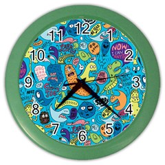 Gettinloose Color Wall Clocks by AnjaniArt
