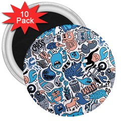 Gross Patten Now 3  Magnets (10 Pack)
