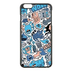 Gross Patten Now Apple Iphone 6 Plus/6s Plus Black Enamel Case by AnjaniArt