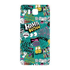 Haha Wow Pattern Samsung Galaxy Alpha Hardshell Back Case