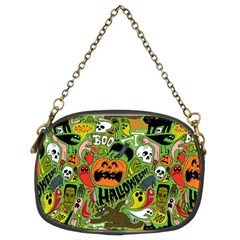 Halloween Pattern Chain Purses (two Sides)  by AnjaniArt