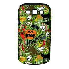 Halloween Pattern Samsung Galaxy S Iii Classic Hardshell Case (pc+silicone) by AnjaniArt