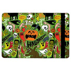 Halloween Pattern Ipad Air 2 Flip by AnjaniArt