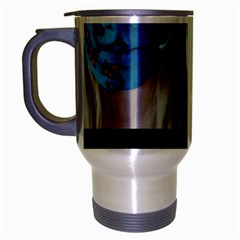Holliwood Face Painting Travel Mug (silver Gray)