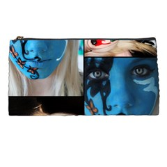 Holliwood Face Painting Pencil Cases by AnjaniArt