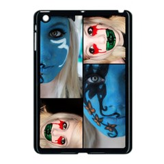 Holliwood Face Painting Apple Ipad Mini Case (black) by AnjaniArt