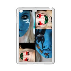 Holliwood Face Painting Ipad Mini 2 Enamel Coated Cases by AnjaniArt