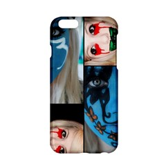 Holliwood Face Painting Apple Iphone 6/6s Hardshell Case by AnjaniArt