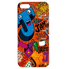 J Pattern Cartoons Apple Iphone 5 Hardshell Case With Stand