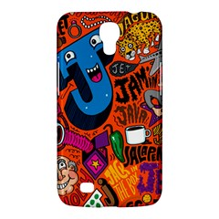 J Pattern Cartoons Samsung Galaxy Mega 6 3  I9200 Hardshell Case by AnjaniArt