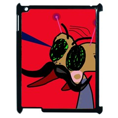 Mr Fly Apple Ipad 2 Case (black) by Valentinaart