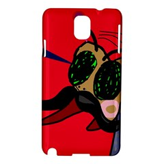 Mr Fly Samsung Galaxy Note 3 N9005 Hardshell Case by Valentinaart