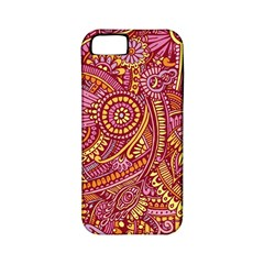 Pink Yellow Hippie Flower Pattern Zz0106 Apple Iphone 5 Classic Hardshell Case (pc+silicone) by Zandiepants