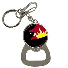 Eagle Bottle Opener Key Chains by Valentinaart