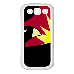 Eagle Samsung Galaxy S3 Back Case (white) by Valentinaart