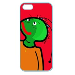 Looking Up Apple Seamless Iphone 5 Case (color) by Valentinaart