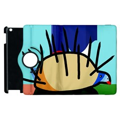 Hedgehog Apple Ipad 3/4 Flip 360 Case by Valentinaart