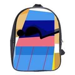 Jumping School Bags(large)