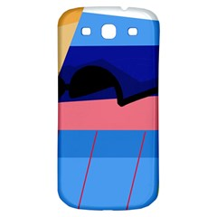 Jumping Samsung Galaxy S3 S Iii Classic Hardshell Back Case by Valentinaart