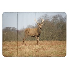 Red Deer Stag On A Hill Samsung Galaxy Tab 8 9  P7300 Flip Case by GiftsbyNature