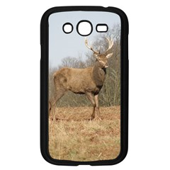 Red Deer Stag On A Hill Samsung Galaxy Grand Duos I9082 Case (black) by GiftsbyNature