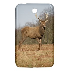 Red Deer Stag On A Hill Samsung Galaxy Tab 3 (7 ) P3200 Hardshell Case  by GiftsbyNature