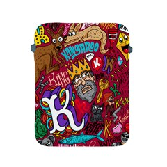 K Pattern Cartoons Apple Ipad 2/3/4 Protective Soft Cases