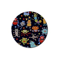 Large Pablic Cartoons Rubber Coaster (round)  by AnjaniArt
