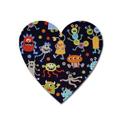 Large Pablic Cartoons Heart Magnet