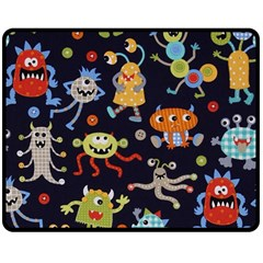 Large Pablic Cartoons Double Sided Fleece Blanket (medium)