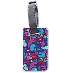 Mo Monsters Mo Patterns Luggage Tags (one Side)
