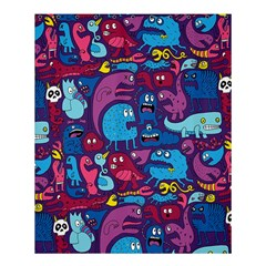 Mo Monsters Mo Patterns Shower Curtain 60  X 72  (medium)