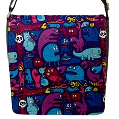 Mo Monsters Mo Patterns Flap Messenger Bag (s)