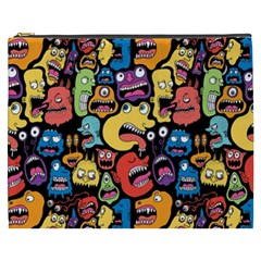Monster Faces Cosmetic Bag (xxxl)