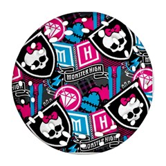 Monster High Round Filigree Ornament (2side)