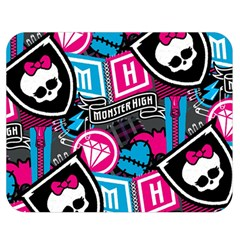 Monster High Double Sided Flano Blanket (medium)  by AnjaniArt