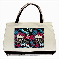 Monster High 03 Basic Tote Bag (two Sides) by AnjaniArt